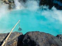 Sorgente di acqua calda di Beppu Immagine Stock