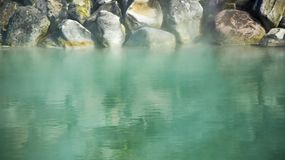 Sorgente di acqua calda di Taiwan immagini stock
