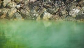 Sorgente di acqua calda di Taiwan fotografie stock