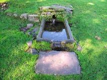 Sorgente di acqua sotterranea Fotografia Stock