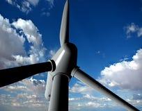 Sorgente di un'energia eolica Fotografie Stock