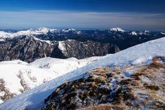 Sorgente nelle alpi dell'Austria Fotografia Stock Libera da Diritti