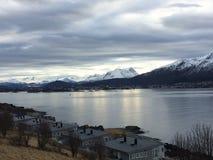 Sorgente in Norvegia Fotografia Stock Libera da Diritti