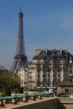 Sorgente a Parigi Fotografie Stock