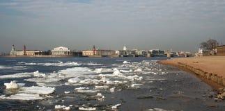 Sorgente a St Petersburg Fotografia Stock Libera da Diritti