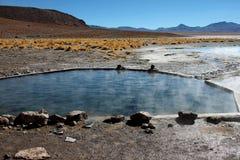 Sorgenti calde in Bolivia Fotografia Stock