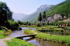 Sorgenti dell'Ali-pasa - Montenegro Fotografie Stock