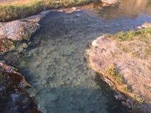 Sorgenti di acqua calda immagine stock