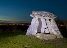 Sorginetxe dolmen i slättarna av Alava Royaltyfri Foto