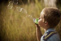 Sorglose Kindheit Lizenzfreies Stockbild