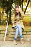Sorgsenhetkvinna Arkivbilder
