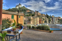 Sori. Small village of the Riviera Ligure Stock Photo