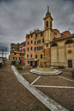 Sori, little village near Genova Stock Photography