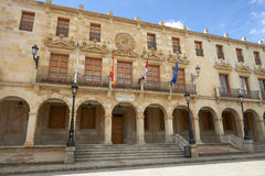 Soria City Council, Castilla Leon, Spain Stock Image