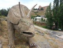 Soria Highlands Bretun L'itinerario di Ichnite Immagine Stock Libera da Diritti