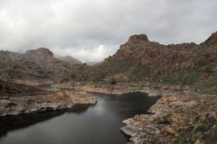 Soria Lake in Gran Canaria Royalty Free Stock Photos