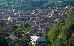 Soriano Calabro, a small town at the foot of the Sila in Calabria Stock Image