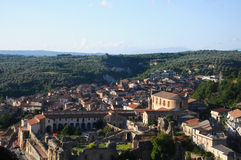 Soriano Calabro, a small town at the foot of the Sila in Calabria Stock Photo