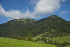 Sorica village, Slovenia. Sorica village in the west part of Slovenia royalty free stock image