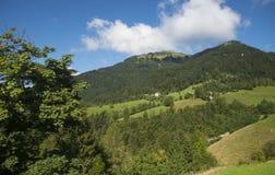 Sorica village, Slovenia Royalty Free Stock Image
