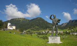 Sorica village, Slovenia. Sorica village in the west part of Slovenia stock images