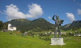 Sorica village, Slovenia Stock Images
