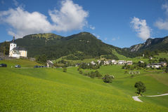 Sorica village, Slovenia. Sorica village in the west part of Slovenia royalty free stock photo