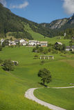 Sorica village, Slovenia. Sorica village in the west part of Slovenia royalty free stock photos