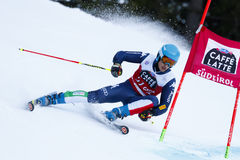 SORIO Daniele in Audi Fis Alpine Skiing World Cup Men's Giant Royalty Free Stock Images