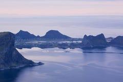 Sorland on island of Vaeroy Royalty Free Stock Photo