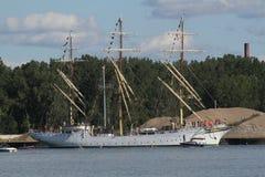 Sorlandet - nave alta Immagini Stock Libere da Diritti
