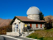 Sormano Astronomical Observatory Royalty Free Stock Photography