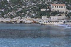 Sormiou-Bucht Stockfoto