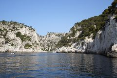 Sormiou calanque. France. Hi Res. The Sormiou Calanque, in the French riviera. France stock image