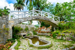 The Soroa Orchid Botanical Garden in Cuba Royalty Free Stock Photography