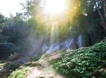 Soroa vattenfall, Pinar del Rio, Kuba arkivfoton