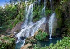 Soroa-Wasserfall, Pinar del Rio, Kuba stockfotografie