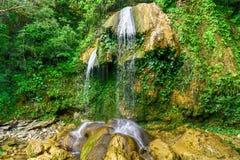 Soroa Waterfall - Pinar del Rio, Cuba. Soroa Waterfall in Pinar del Rio, Cuba royalty free stock image
