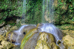 Soroa Waterfall - Pinar del Rio, Cuba. Soroa Waterfall in Pinar del Rio, Cuba Royalty Free Stock Photo