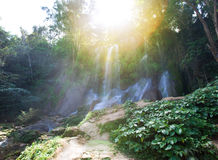 Soroa waterfall, Pinar del Rio, Cuba. Landscape in a sunny day Stock Photos