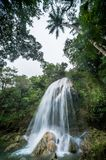 SOROA WATERFALL Royalty Free Stock Photography
