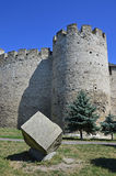 Soroca defense. Soroca citadel in northern Republic of Moldova, built 600 years ago by the Moldavian ruler Stephen the Great Stock Images