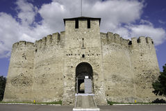 Soroca Fortress / Cetatea Soroca. A view on the facade of the Moldavian fortress situated in Soroca, Republic of Moldova Stock Images