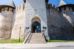 Soroca fortress image. Photo of the architectural monument,the entrance in fortress Soroca, Moldova stock images
