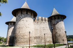 Soroca fortress image. Photo of the architectural monument, fortress Soroca, Moldova stock photos