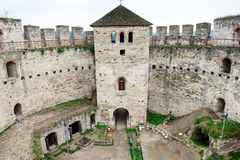 Soroca fortress, Republic of Moldova. Inner yard of Soroca Fortress, Moldova, Eastern Europe royalty free stock image