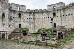 Soroca fortress, Republic of Moldova. Inner yard of Soroca Fortress, Moldova, Eastern Europe Royalty Free Stock Photo