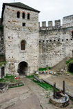 Soroca fortress, Republic of Moldova. Inner yard of Soroca Fortress, Moldova, Eastern Europe Stock Image