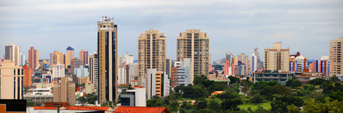 Sorocaba. BRAZIL - JANUARY 17: Downtown  in Sao Paulo state on January 17, 2013 in . Eith largest city in Sao Paulo state , Its industries export to over 115 Stock Photo