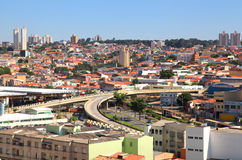 Sorocaba. BRAZIL - JANUARY 17: Downtown  in Sao Paulo state on January 17, 2013 in . Eith largest city in Sao Paulo state , Its industries export to over 115 Royalty Free Stock Photo